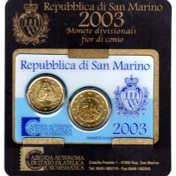 Coin Card Saint Marin 2003...