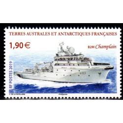 Timbre TAAF n°893 Le Champlain