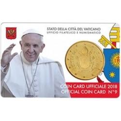 Vatican Coin Card n°9 2018...