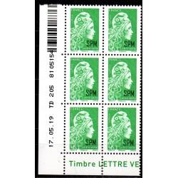 Timbres Saint-Pierre et...