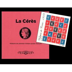 Livre La Cérès avec bloc...