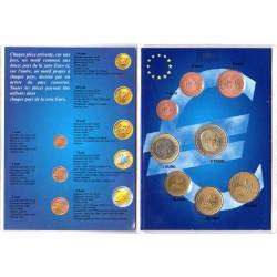 Série 8 pièces Monaco 2001
