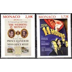 Timbres Monaco n°3166 et...