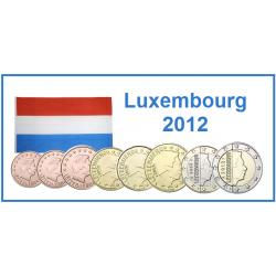 Série 8 pièces Luxembourg 2012