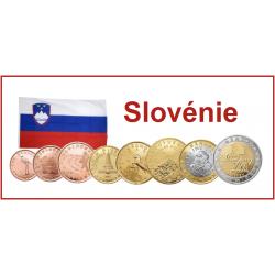 Série 8 pièces Slovénie