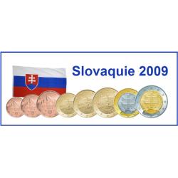 Série 8 pièces Slovaquie 2009
