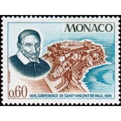 Timbre Monaco n°1067...