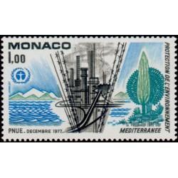 Timbre Monaco n°1117...