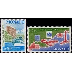 Timbres Monaco n°1134 et...