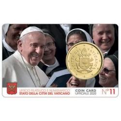 Vatican Coin Card n°11 2020...