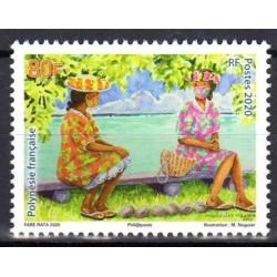 Timbre Polynésie 2020...