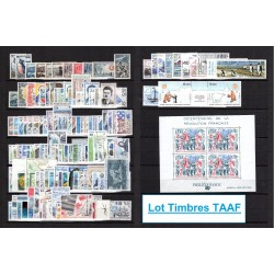 Lot Timbres TAAF toutes...