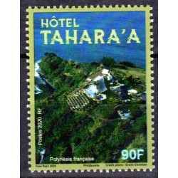 Timbre Polynésie 2020 Hôtel...