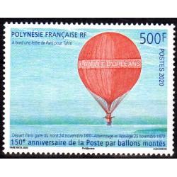 Timbre Polynésie 2020 150...