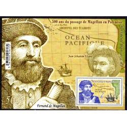 Timbre Polynésie 2021 Bloc...