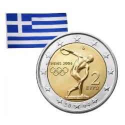 2 Euros commémorative Grèce 2004