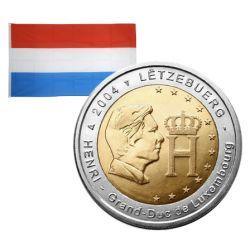 2 Euros commémorative Luxembourg 2004