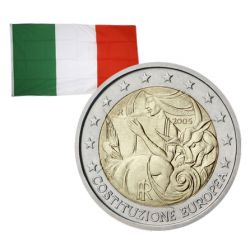 2 Euros commémorative Italie 2005
