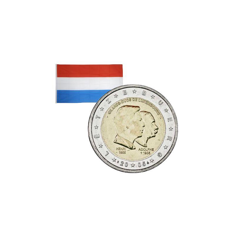 2 Euros commémorative Luxembourg 2005
