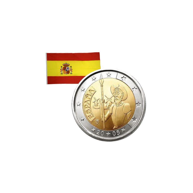 2 Euros commémorative Espagne 2005