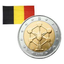 2 Euros commémorative Belgique Atomium 2006