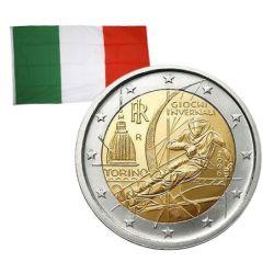2 Euros commémorative Italie 2006
