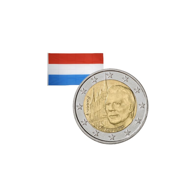 2 Euros commémorative Luxembourg 2007