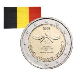 2 Euros commémorative Belgique 2008