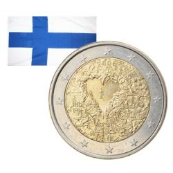2 Euros commémorative Finlande 2008