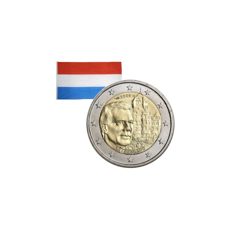 2 Euros commémorative Luxembourg 2008