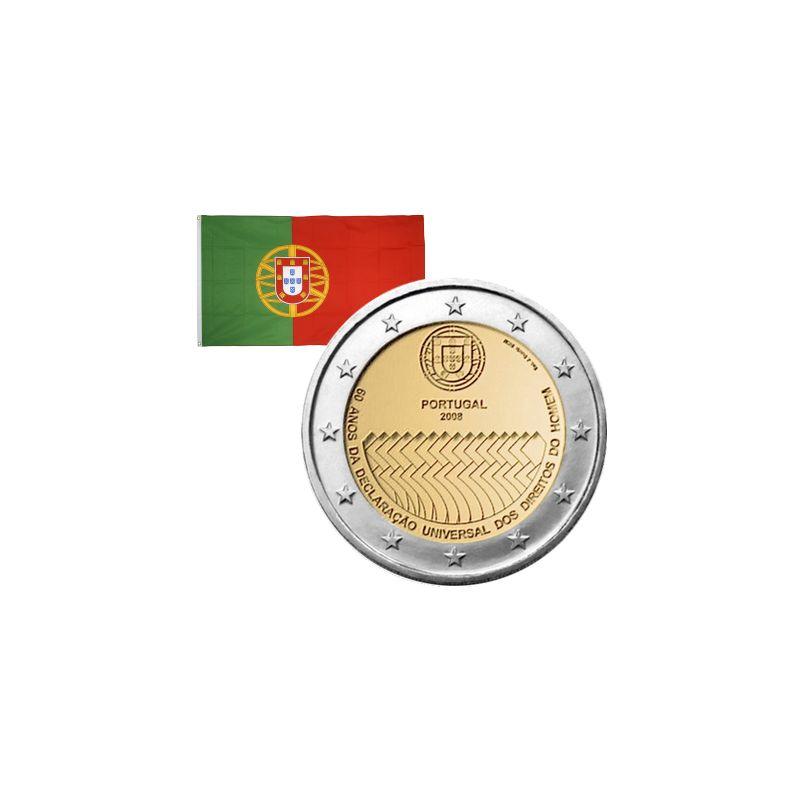 2 Euros commémorative Portugal 2008