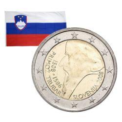 2 Euros commémorative Slovénie 2008