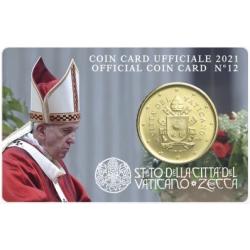 Vatican Coin Card n°12 2021...