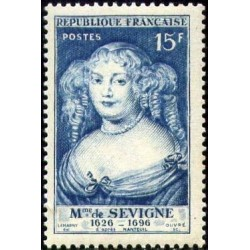 Timbre France N°874 Madame...