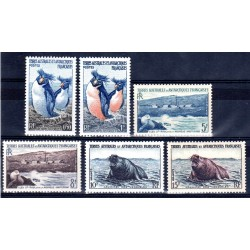 Timbres TAAF n°2 à 7