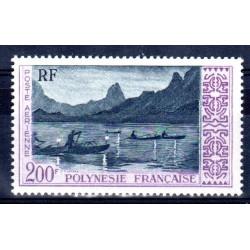Polynésie Poste Aérienne n°4