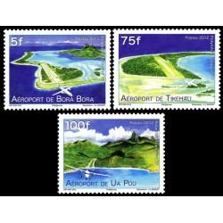 Timbre Polynésie n°998 à 1000