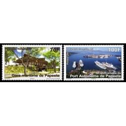 Timbre Polynésie n°979 et 980