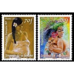 Timbre Polynésie n°982 et 983