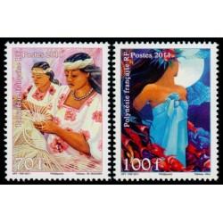 Timbre Polynésie n°940 et 941