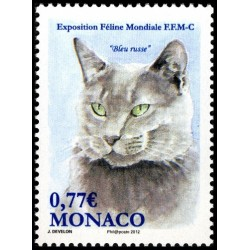 Timbre Monaco n°2810
