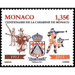Timbre Monaco n°2818