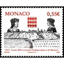 Timbre Monaco n°2819