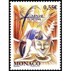 Timbre Monaco n°2820