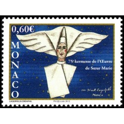 Timbre Monaco n°2821