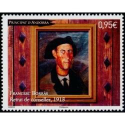Timbre Andorre Français n°708