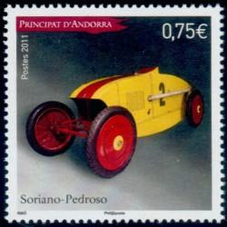 Timbre Andorre Français n°710