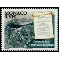 Timbre Monaco n°2757
