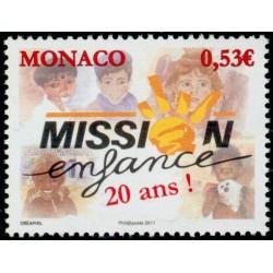 Timbre Monaco n°2764