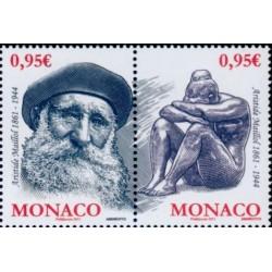 Timbre Monaco n°2766 et 2767